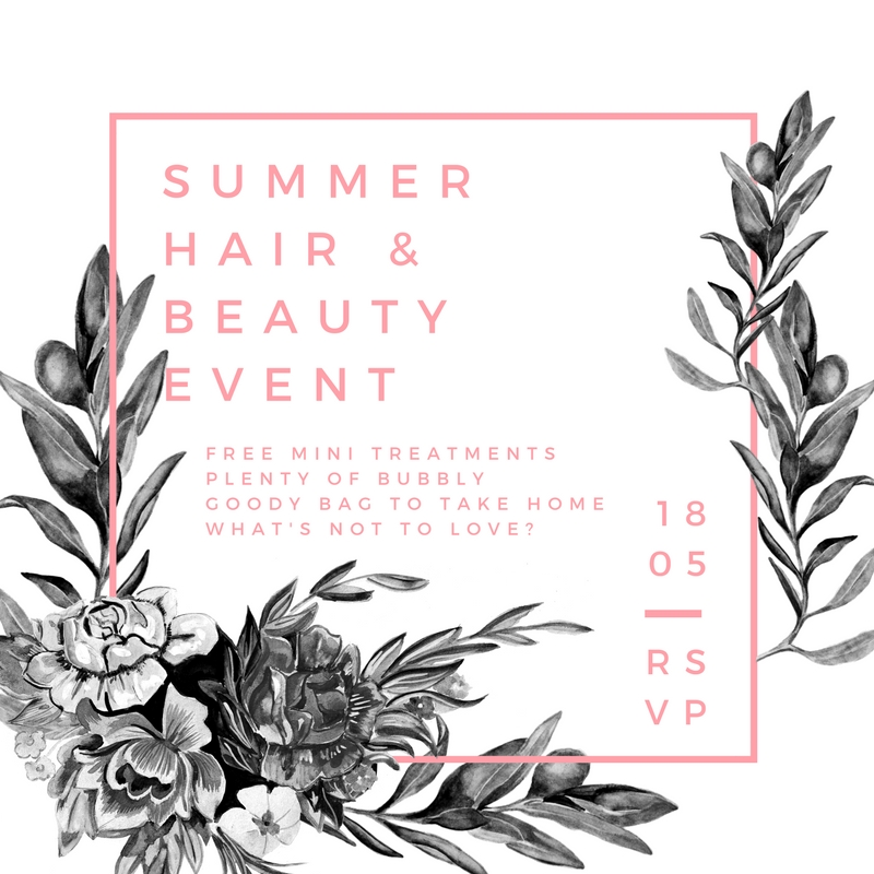 Summer Hair & Beauty Event