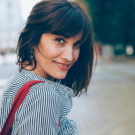 Fringe benefits hair trend 2018