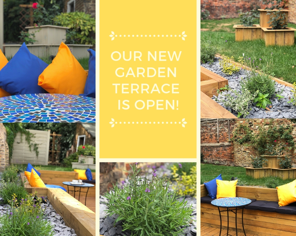 Garden Terrace Now Open