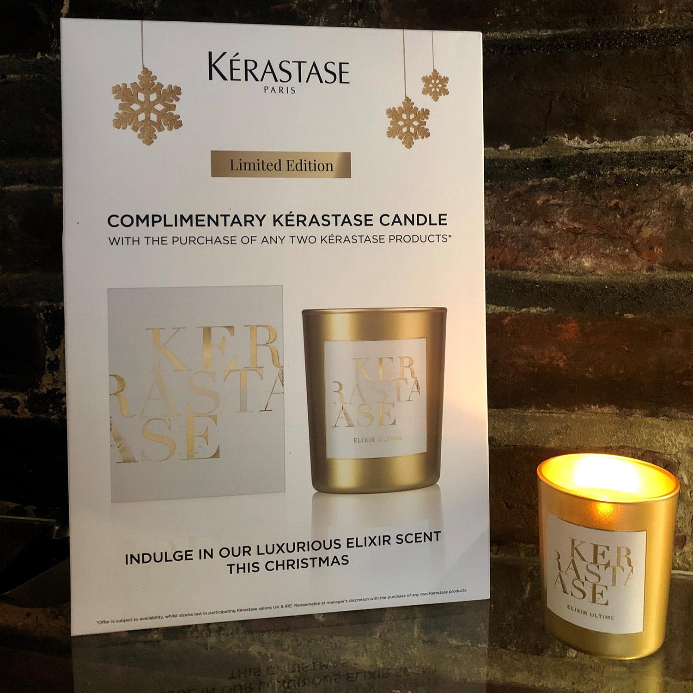 Kerastase Christmas Candle