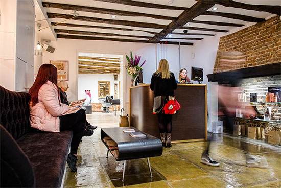 hair and beauty salon in canterbury